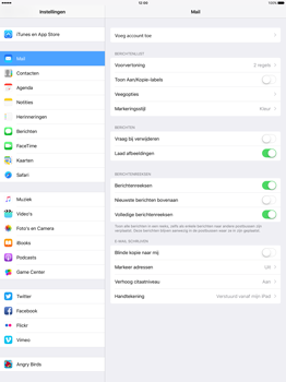 Apple iPad Pro 12.9 inch (Model A1671) - E-mail - Handmatig instellen - Stap 5