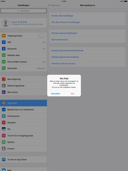 Apple iPad Pro 12.9 inch (2nd generation) - Resetten - Fabrieksinstellingen terugzetten - Stap 6