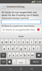 Sony Xperia E1 - E-Mail - Konto einrichten - Schritt 17