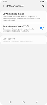 Samsung Galaxy A80 - Software - Installing software updates - Step 5