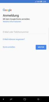 Samsung Galaxy S8 Plus - Apps - Konto anlegen und einrichten - 4 / 21