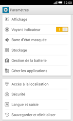 Alcatel OT-5050X Pop S3 - Applications - Supprimer une application - Étape 4
