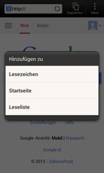 HTC One SV - Internet und Datenroaming - Verwenden des Internets - Schritt 7