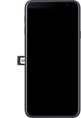 Samsung Galaxy J4 Plus - Toestel - Simkaart plaatsen - Stap 5