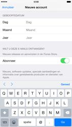 Apple iPhone 6 Plus (Model A1524) - Applicaties - Account aanmaken - Stap 16