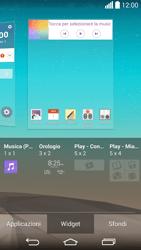 LG G3 - Operazioni iniziali - Installazione di widget e applicazioni nella schermata iniziale - Fase 5