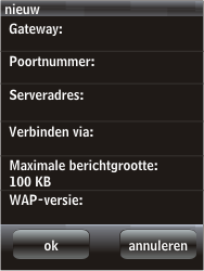 HTC F3188 Smart - MMS - handmatig instellen - Stap 16