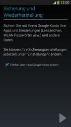 Samsung I9505 Galaxy S4 LTE - E-Mail - Konto einrichten (gmail) - Schritt 13