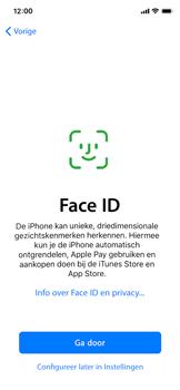 Apple iphone-x-met-ios-13-model-a1901 - Instellingen aanpassen - Nieuw toestel instellen - Stap 13