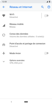 Google Pixel 3 - Internet et connexion - Activer la 4G - Étape 5