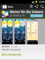 Samsung Galaxy Pocket - Apps - Installieren von Apps - Schritt 14