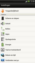 HTC Z520e One S - Voicemail - Handmatig instellen - Stap 4