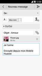 Huawei Ascend Y530 - E-mail - envoyer un e-mail - Étape 12