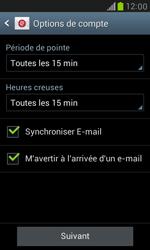 Samsung Galaxy S III Mini - E-mail - configuration manuelle - Étape 14