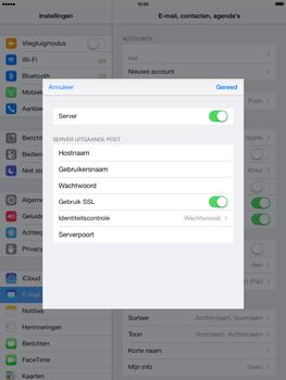 Apple iPad 4th generation (Retina) met iOS 7 - E-mail - Handmatig instellen - Stap 19