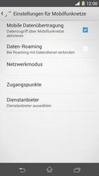 Sony Xperia Z1 - Internet - Manuelle Konfiguration - Schritt 6