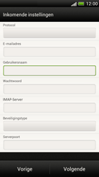 HTC Z520e One S - E-mail - Handmatig instellen - Stap 8