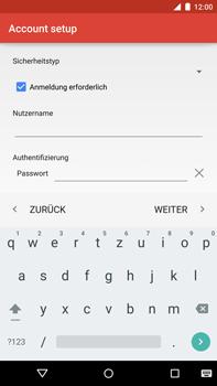 Motorola Google Nexus 6 - E-Mail - Konto einrichten - Schritt 22