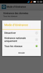 Alcatel One Touch Pop C3 - Internet et roaming de données - Désactivation du roaming de données - Étape 9