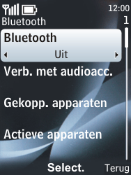Nokia 6303 classic - bluetooth - aanzetten - stap 6
