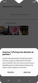 Samsung Galaxy A20e - Contact, Appels, SMS/MMS - Envoyer un MMS - Étape 17