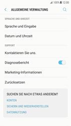Samsung Galaxy S7 - Android N - Gerät - Zurücksetzen auf die Werkseinstellungen - Schritt 5