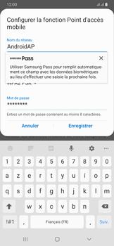Samsung Galaxy A50 - Internet et connexion - Partager votre connexion en Wi-Fi - Étape 9