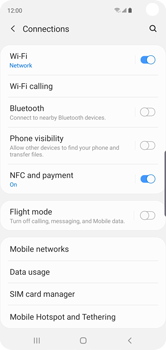 Samsung Galaxy S10 - WiFi - Enable WiFi Calling - Step 6