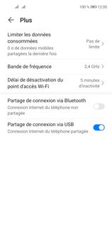 Huawei P40 Lite 5G - Internet et connexion - Utiliser le mode modem par USB - Étape 9