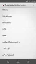 Sony D5803 Xperia Z3 Compact - Internet - Manuelle Konfiguration - Schritt 13