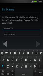 HTC One - Apps - Konto anlegen und einrichten - 5 / 25