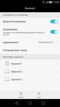 Huawei G8 - Bluetooth - Koppelen met ander apparaat - Stap 5