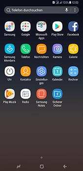 Samsung Galaxy A8 Plus (2018) - Apps - Konto anlegen und einrichten - 3 / 19