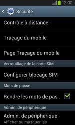 Samsung Galaxy S2 - Sécuriser votre mobile - Personnaliser le code PIN de votre carte SIM - Étape 5