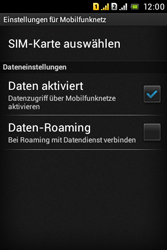 Sony Xperia Tipo Dual - MMS - Manuelle Konfiguration - 2 / 2