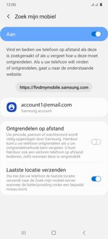 Samsung Galaxy A41 Dual-SIM (SM-A415F) - Beveiliging en ouderlijk toezicht - Zoek mijn mobiel inschakelen - Stap 8