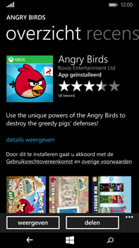 Microsoft Lumia 640 XL - Applicaties - Downloaden - Stap 16