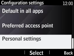 Nokia Asha 210 - Internet - Manual configuration - Step 11