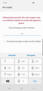 Samsung Galaxy S10 Plus - Beveiliging en privacy - automatische schermblokkering instellen - Stap 8