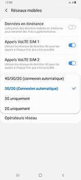 Samsung Galaxy A80 - Réseau - Comment activer une connexion au réseau 4G - Étape 7