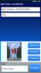 Sony Xperia X10 - MMS - Afbeeldingen verzenden - Stap 12