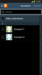 Samsung Galaxy S4 VE 4G (GT-i9515) - Contacten en data - Contacten kopiëren van toestel naar SIM - Stap 7