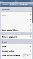 Apple iPhone 5 - E-mail - Handmatig instellen - Stap 13