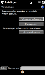Samsung B7610 Omnia Qwerty - Internet - Handmatig instellen WM 6.5 - Stap 7