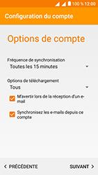 Alcatel U5 - E-mails - Ajouter ou modifier un compte e-mail - Étape 21
