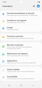 Samsung Galaxy Note 10+ - Applications - Supprimer une application - Étape 4