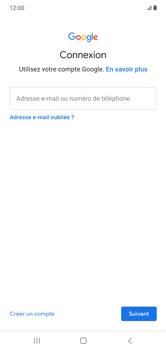 Samsung Galaxy Note 10+ - Applications - Créer un compte - Étape 5