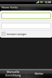 HTC A310e Explorer - E-Mail - Konto einrichten - Schritt 6