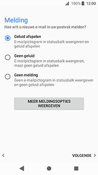 Sony Xperia XA2 Ultra - E-mail - handmatig instellen (outlook) - Stap 15