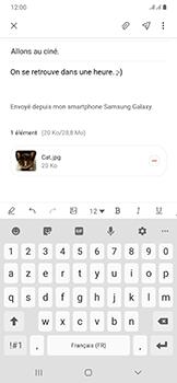 Samsung Galaxy A50 - E-mail - envoyer un e-mail - Étape 19